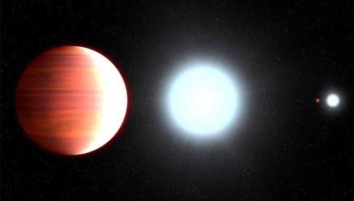 Fenomenul ciudat de pe o planetă din Univers: ninge cu zăpadă metalică