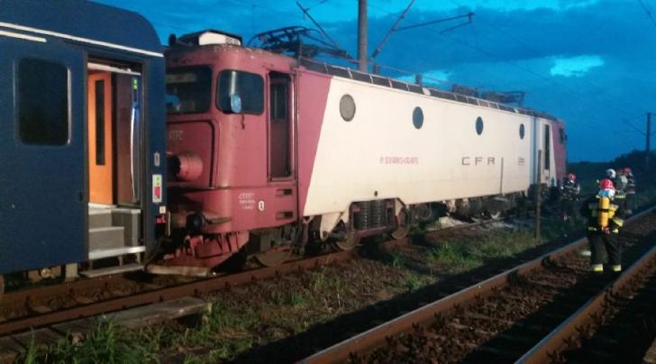 Locomotiva, in flacari