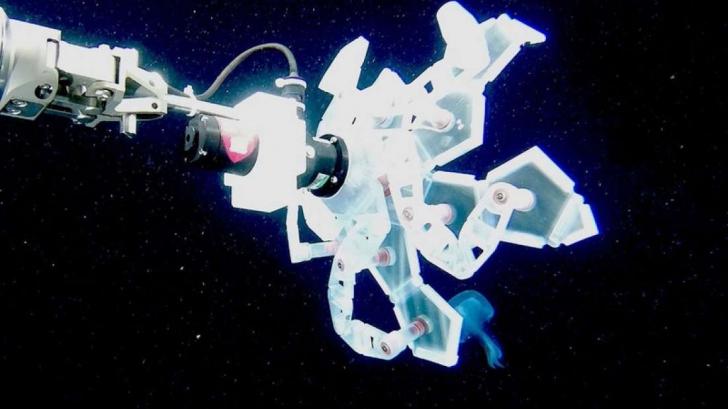 De ce e folosită o mână robotică pentru studierea oceanelor