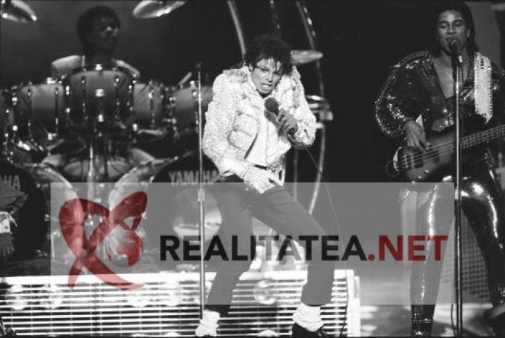Michael Jackson, in octombrie 1984. Imagine scanata de pe negativul original