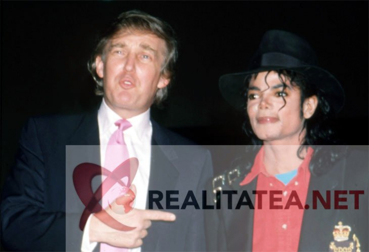 <p>Michael Jackson si Donald Trump in aprilie 1990. Arhiva: Cristian Otopeanu</p>
