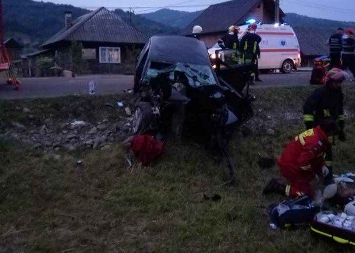 Accident cu doi morți și doi răniți, în Maramureș. Cauza tragediei a șocat