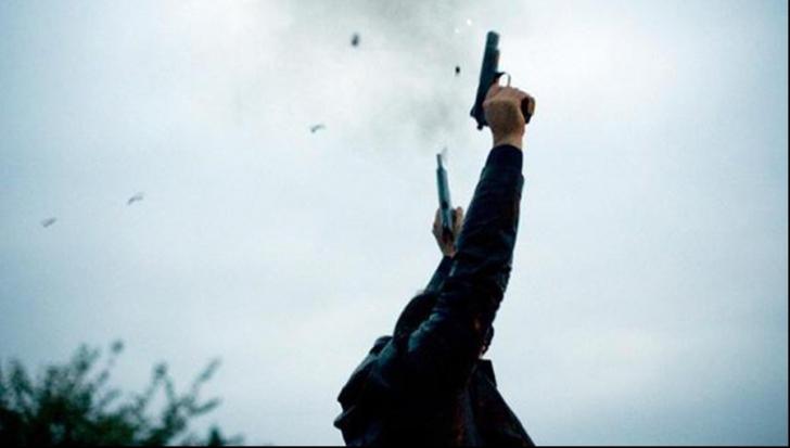 Scandal cu focuri de armă în Călărași. A scos pistolul și a început să tragă