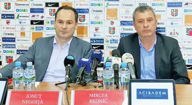 """Rednic e gata să revină la Dinamo: """"Dacă pleacă, mă întorc!"""""""
