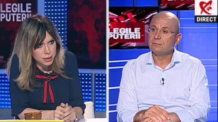 Cozmin Gușă, invitat la Legile Puterii