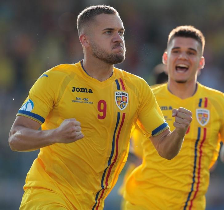 ROMANIA - GERMANIA EURO U21. Imagini incredibile din vestiarul naţionalei! Cine a desfăcut şampania