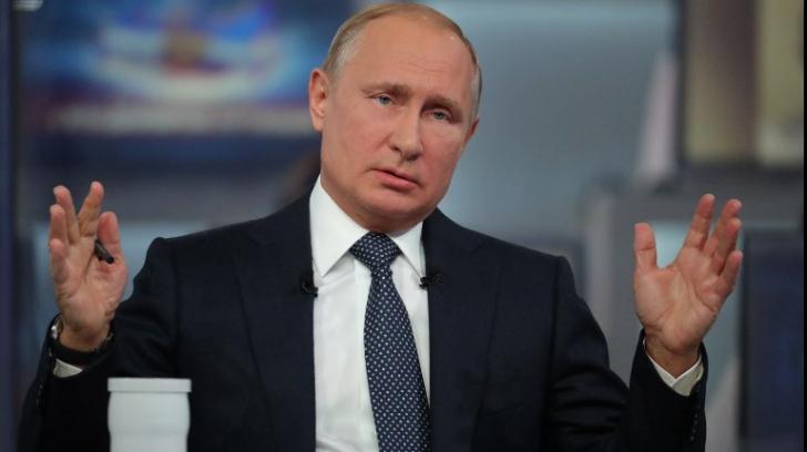 Vladimir Putin a explodat