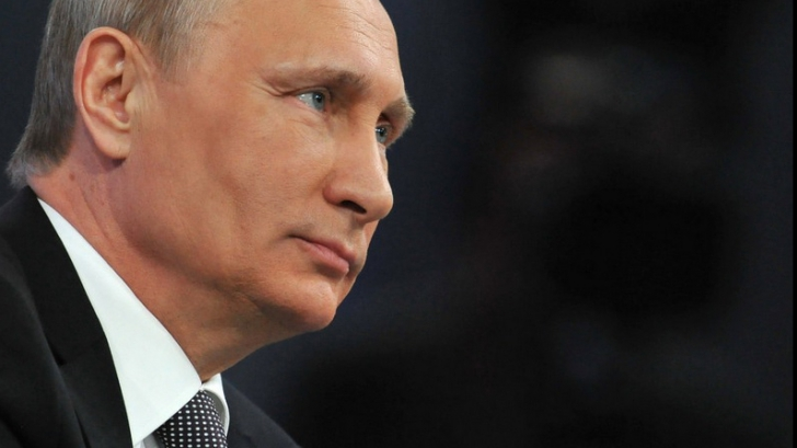 Vladimir Putin jubilează