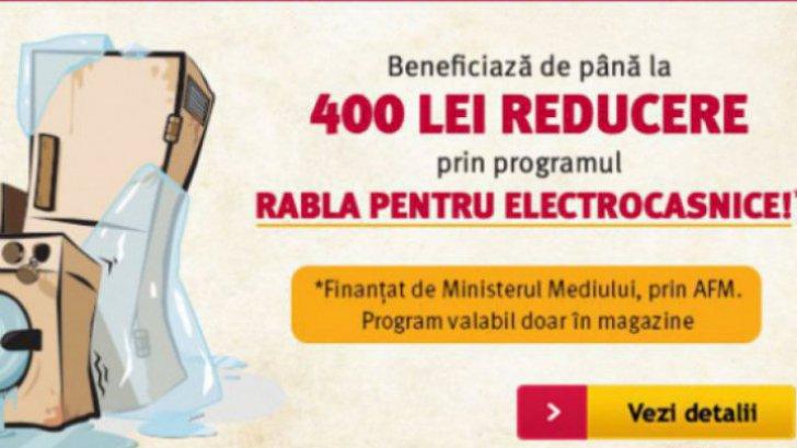 Altex – Vouchere pentru programul Rabla