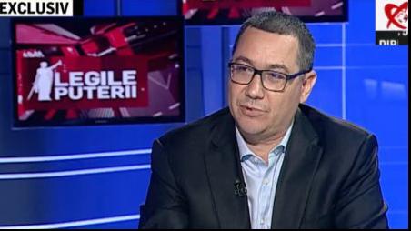 Victor Ponta, la Realitatea TV