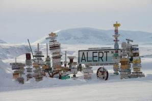 Temperaturi record la Polul Nord