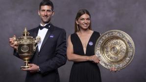 Simona Halep și Djokovici, campionii la Wimbledon