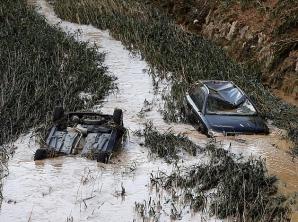 Inundații devastatoare în Navarra, Spania