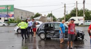 Accident grav, în Brăila: 3 mașini distruse, o victimă