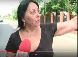 Protestul locatarilor împotriva căii ferate spre Otopeni
