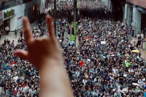 Proteste în Hong Kong