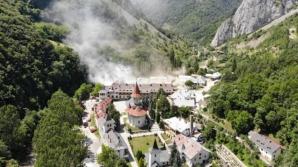 Incendiu Mănăstirea Râmeț