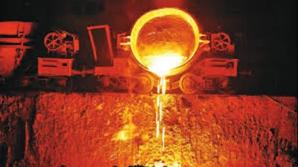Ars cu oțel topit