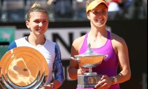 Simona Halep și Elina Svitolina