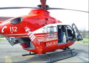 Copil de 4 ani, dus cu elicopterul SMURD la spital, după ce a băut insecticid