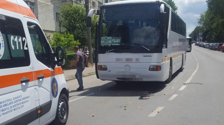 Tragedie la Constanța. Femeie lovită mortal de un autocar