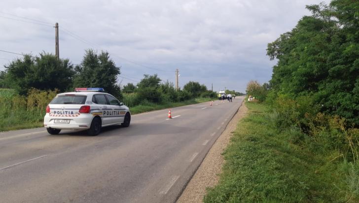 Tragedie în Vrancea: doi bicicliști au fost accidentați mortal. Erau soț și soție