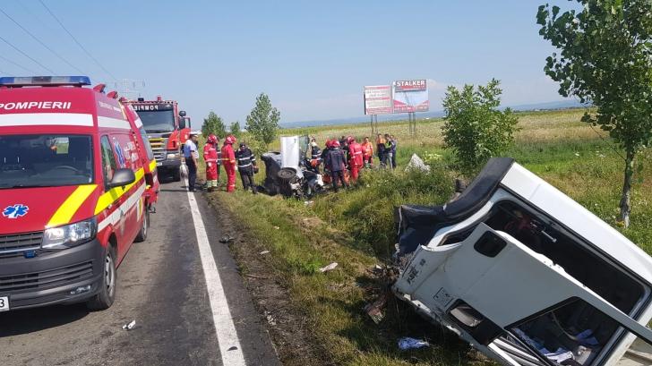 Accident groaznic pe DN 71 Târgovişte-Bucureşti: 4 morţi