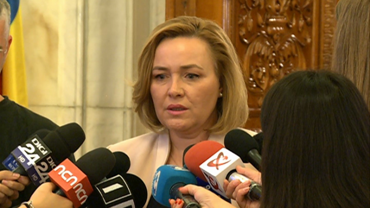 Carmen Dan, prima reacție privind plecarea de la Ministerul de Interne