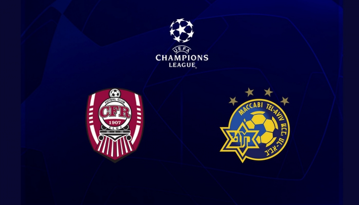 VIDEO | CFR – Maccabi Tel Aviv 1-0. Omrani a adus victoria