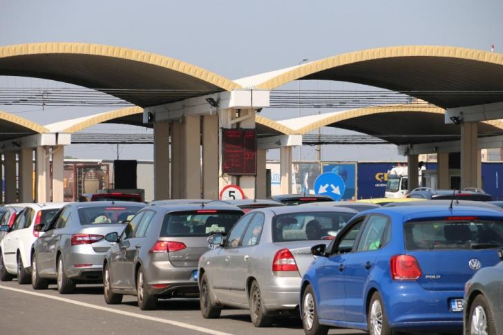 Valori de trafic de patru ori mai mari față de sezonul estival trecut, prin Vama Giurgiu