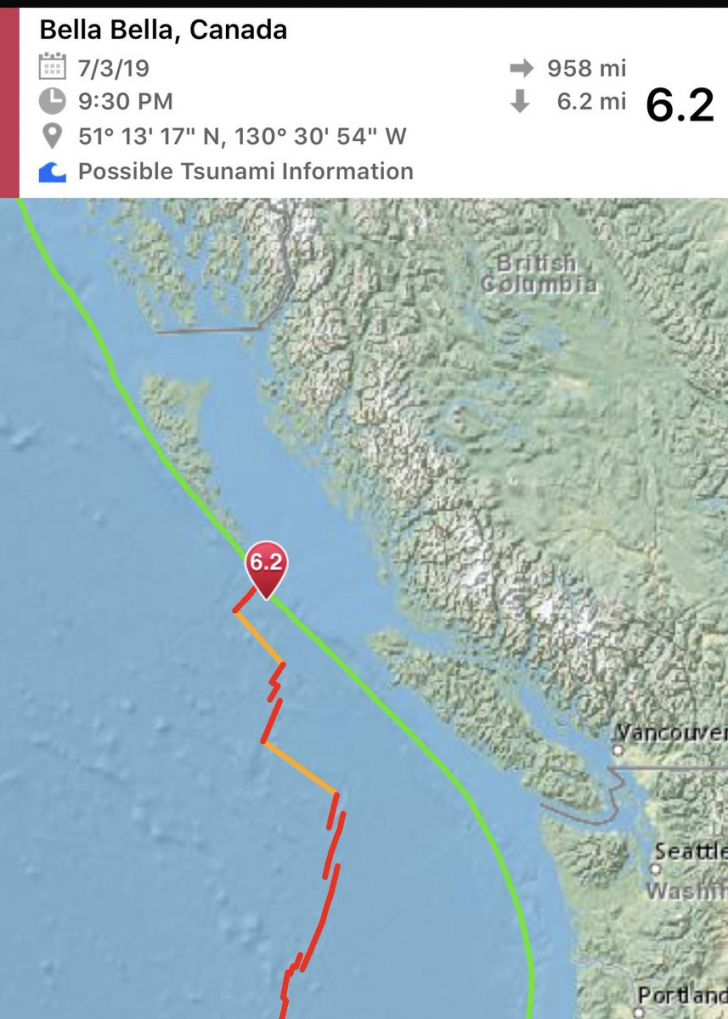 <p>Cutremur puternic în Canada</p>