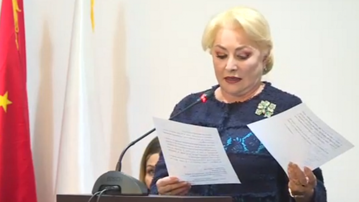 Viorica Dăncilă se laudă și la întâlnirea cu IMM-urile: Executivul a făcut progrese majore!