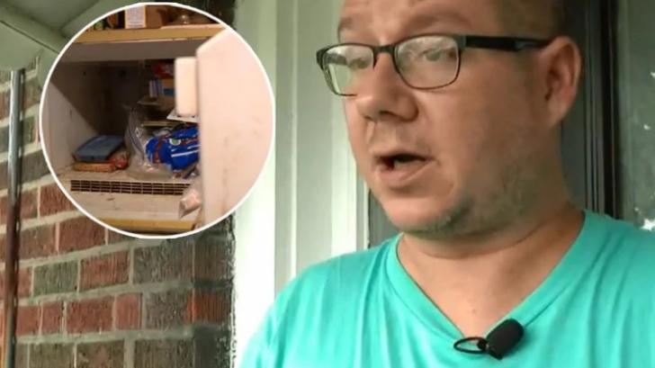A deschis cutia de tort ce era în frigider de 37 ani şi a găsit cadavrul mumificat al unui bebeluş