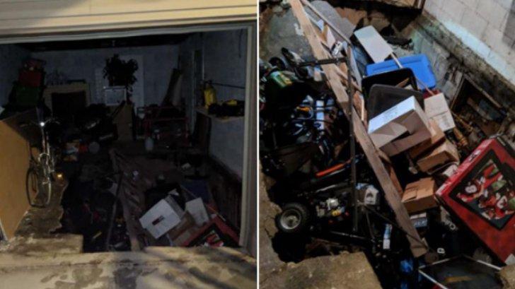 Descoperire cumplită, în camera secretă de sub garaj: