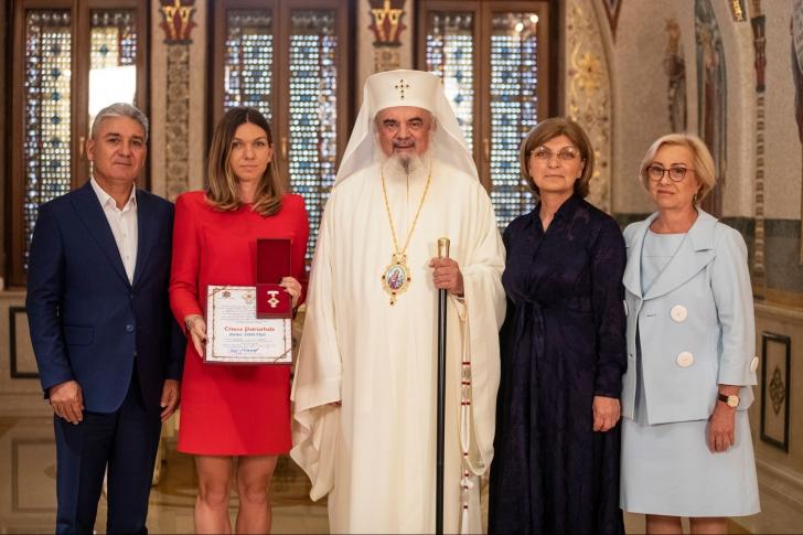 Simona Halep, premiată de Patriarhul Daniel!