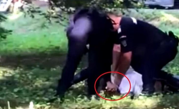 Tatăl fetei care ar fi fost atinsă de bărbatul mort după ce a fost gazat de jandarmi, prima reacție