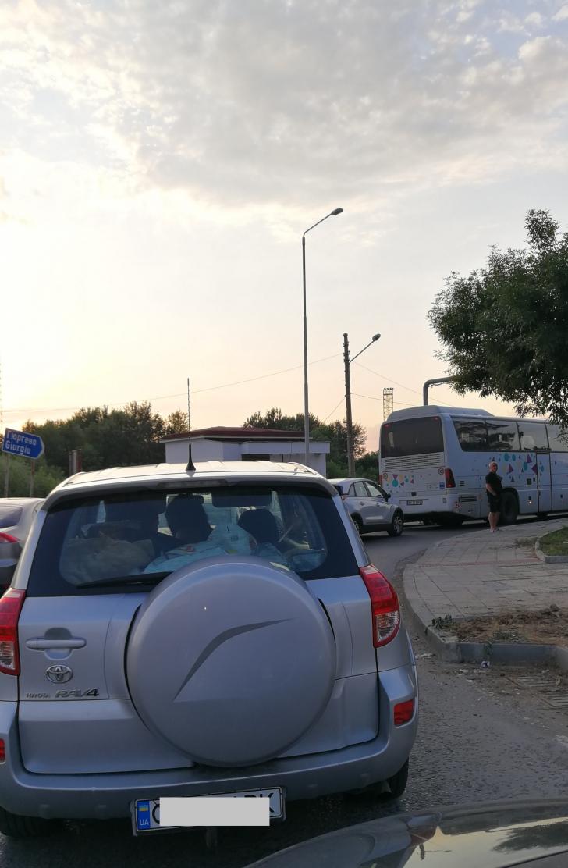Trafic de cosmar in Vama Giurgiu-Ruse, timp de asteptare de o ora