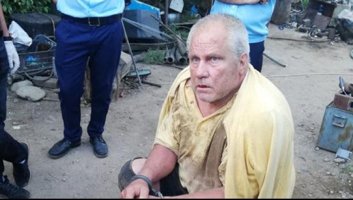 """Crima din Caracal. Suspectul, readus la """"casa groazei"""", după ce a primit mandat de arestare"""