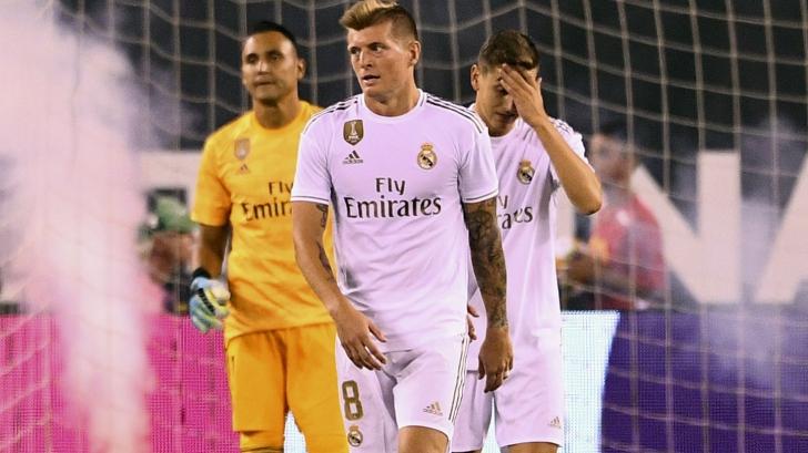 Scor halucinant pe terenul de fotbal! Real Madrid, umilită. La pauză, era condusă cu 5-0