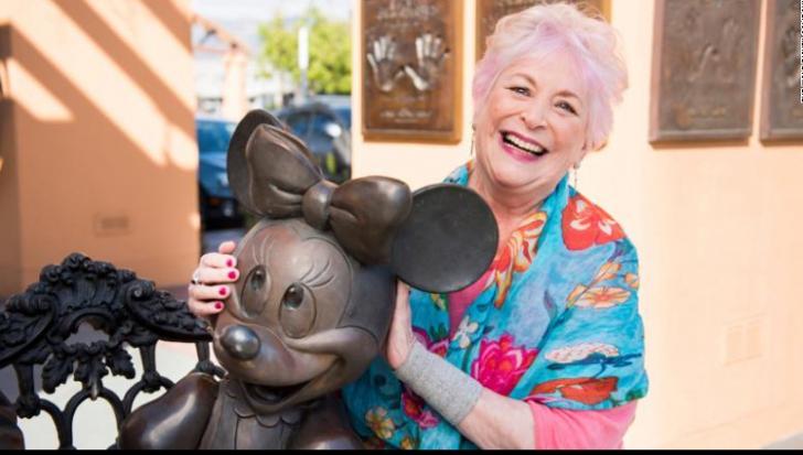 """Doliu în lumea desenului animat, a murit """"vocea"""" lui Minnie Mouse"""