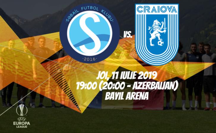 VIDEO BLOG | FK Sabail – Universitatea Craiova, de la ora 19:00