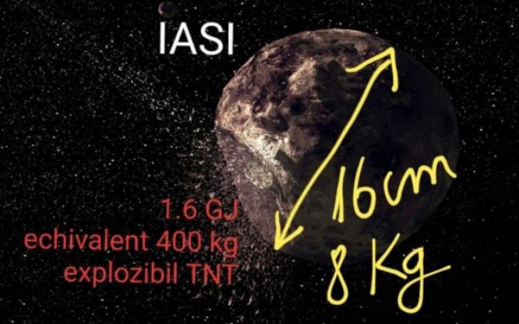 Cauza bubuiturii din Iași: un meteorit de 8 kg ar fi explodat deasupra orașului