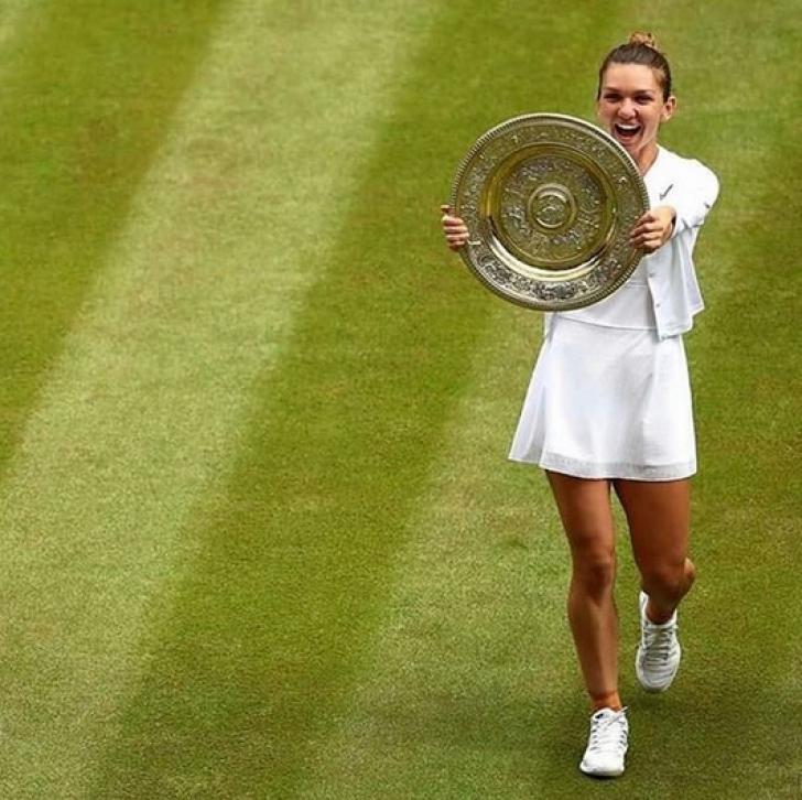 <p>Simona Halep. Articolul scandalos scris de englezi, după succesul fantastic la Wimbledon</p>