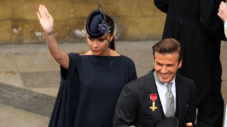 În urmă cu 20 de ani! David și Victoria Beckham, mariaj de două decenii FOTO