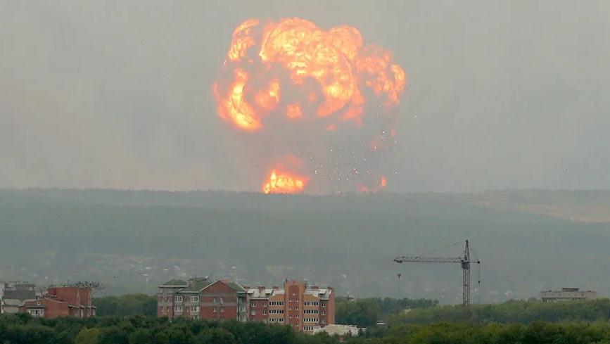 Explozie nucleara in nord-vestul Rusiei