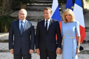 Putin, primit de Macron