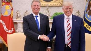 Klaus Iohannis, în vizită la Donald Trump