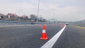 CNAIR, obligată la daune morale după ce poarta tunelului de la Bâlea a distrus o mașină