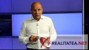 Cozmin Gușă, în studioul Realitatea TV. Foto: Cristian Otopeanu