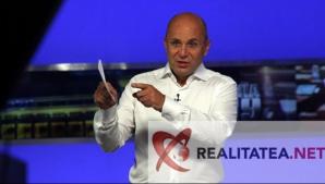 Cozmin Gusa la Realitatea TV. Foto: Cristian Otopeanu